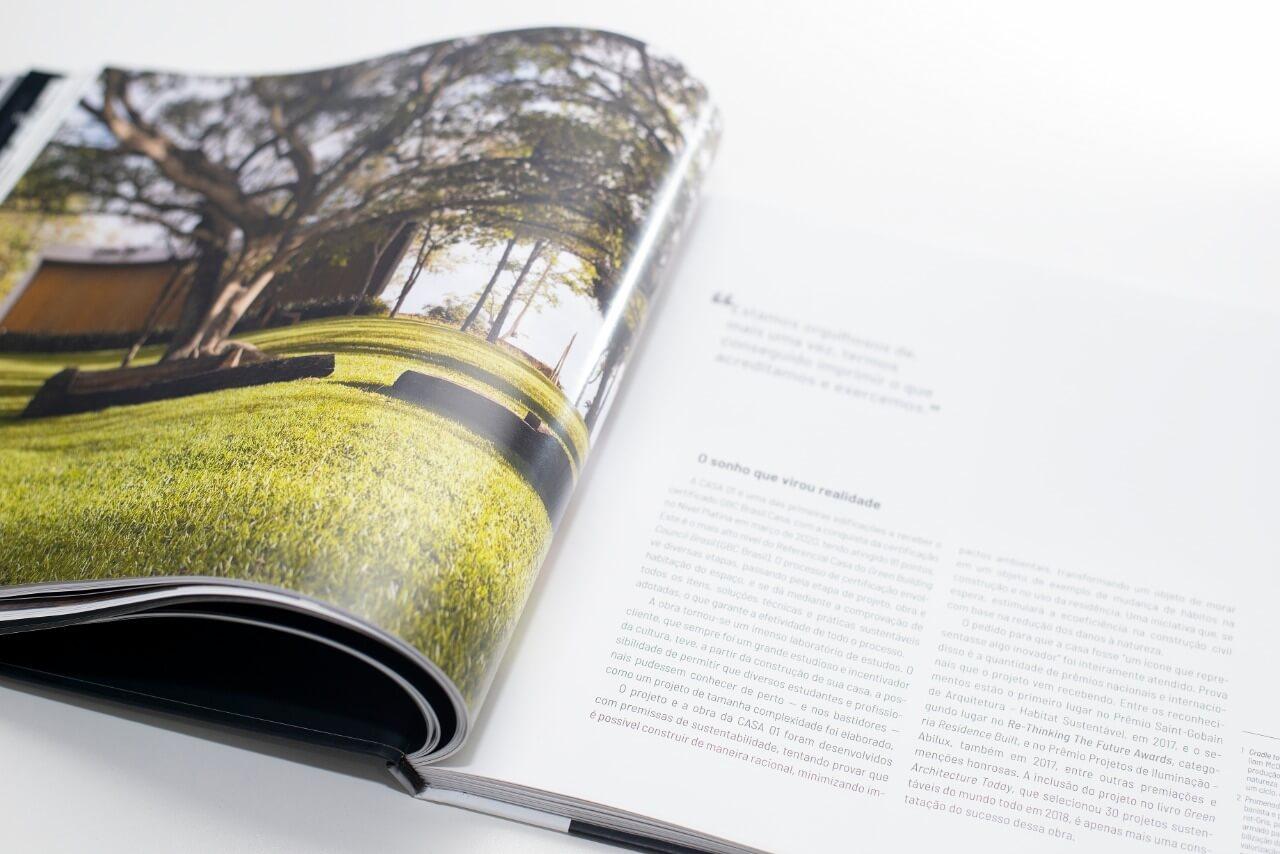 Livro CASA 01 - Foto: Lio Simas / Santa Editora